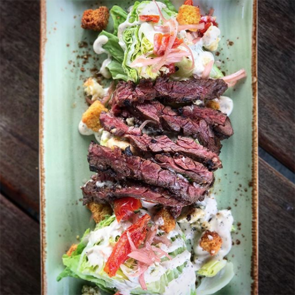 Wedge with Steak