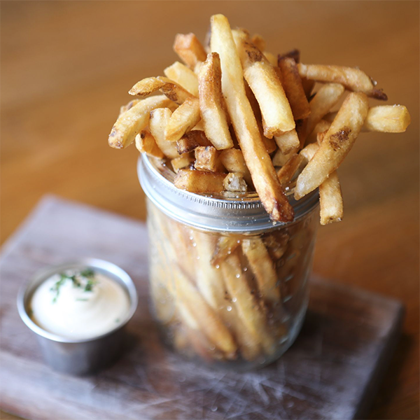Duck Fat Frites with Truffle Aioli